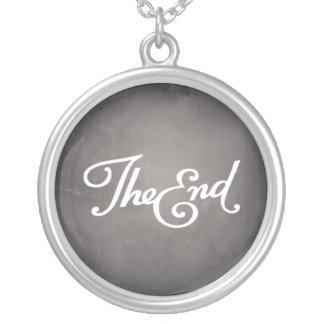 End Title Card necklace