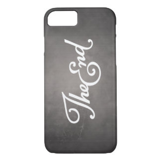 End Title iPhone 7 Case