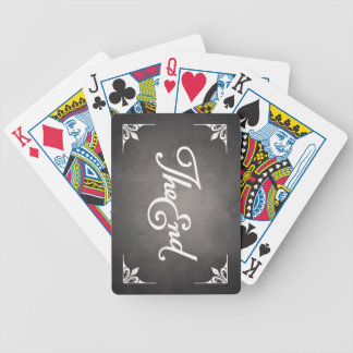 End Title Poker Cards