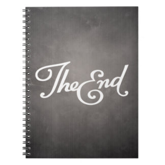 End Title Spiral Note Books