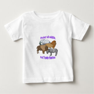 End Trophy Hunting! Baby T-Shirt