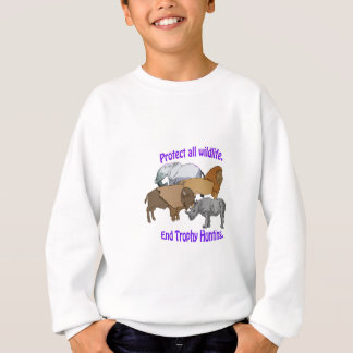 End Trophy Hunting! Sweatshirt