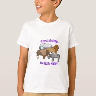 End Trophy Hunting! T-Shirt