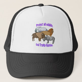 End Trophy Hunting! Trucker Hat