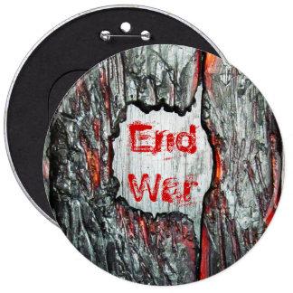 End War 6 Cm Round Badge