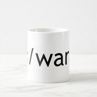 end war coffee mug