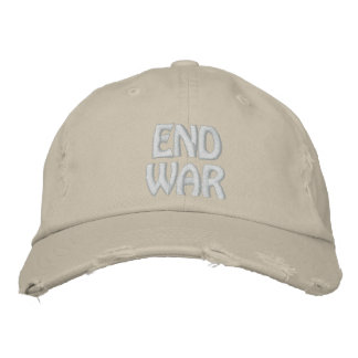 End War Embroidered Baseball Cap