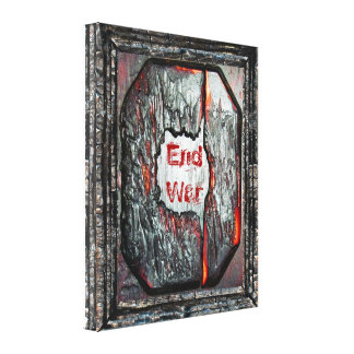 End War Gallery Wrapped Canvas