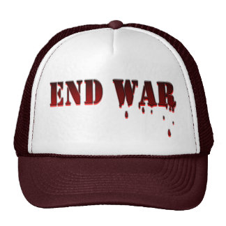 END WAR TRUCKER HATS