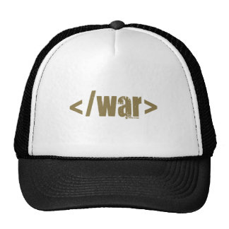 End War Mesh Hats