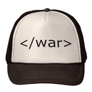 End War html - Black & White Cap