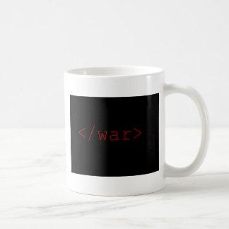 End War (in HTML) Mug