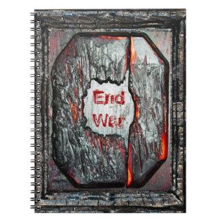 End War Spiral Note Books
