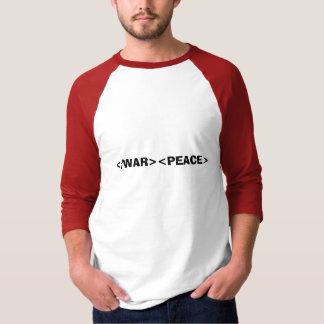 End War Start Peace Shirt