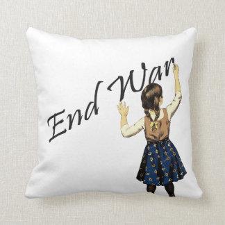 End War Throw Pillow