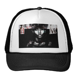 end year a.m. mesh hat