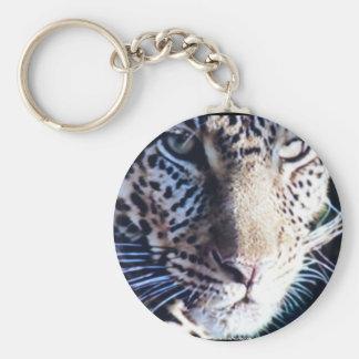 Endangered Amur Leopard keychain