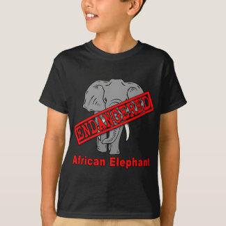 Endangered Animal African Elephant Tees