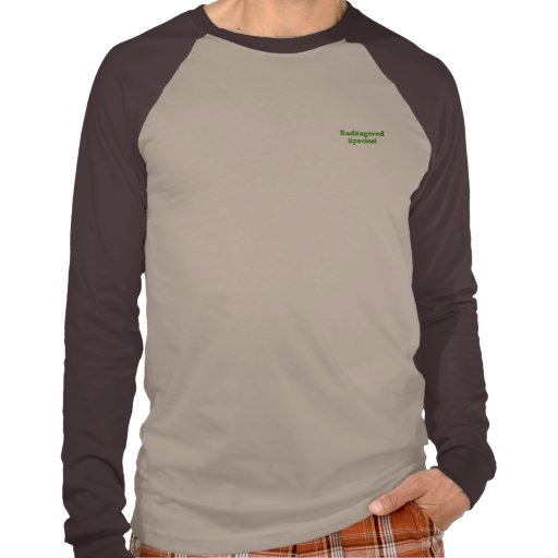 Endangered Species! Burrowing Owl T-shirt