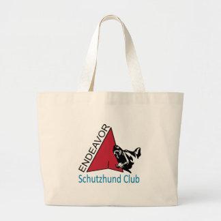 Endeavor Schutzhund Club Logo Jumbo Tote