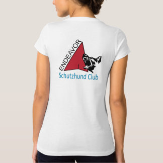 Endeavor Schutzhund Club Logo V-neck shirt