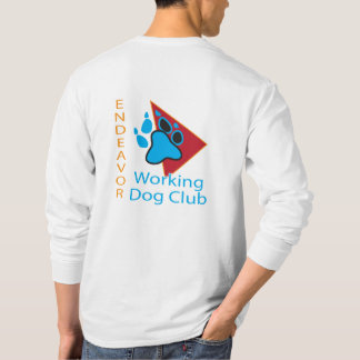Endeavor Working Dog Club Logo Long Sleeve Shirt