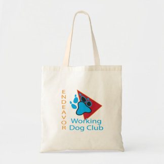 Endeavor Working Dog Club Logo Tote