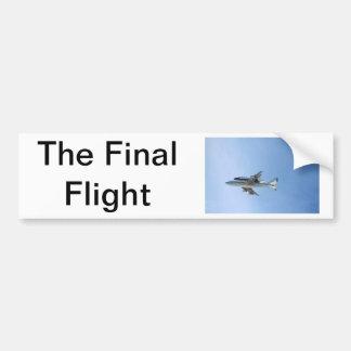 Endeavors Final Flight Bumper Sticker