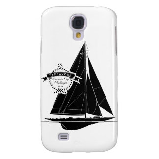 Endeavour Black Galaxy S4 Cover