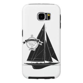Endeavour Black Samsung Galaxy S6 Cases