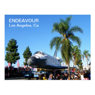 Endeavour/Los Angeles Postcard! Postcard