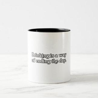 Ending The Day Mugs