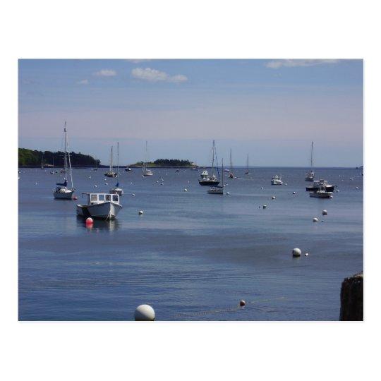 Endless Boats Postcard
