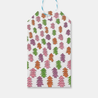 Endless Forest Pine Trees Print Gift Tags