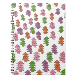 Endless Forest Pine Trees Print Notebooks