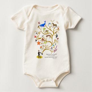 Endless Form Baby Bodysuit