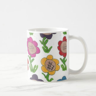 Endless Garden Flower Pattern Art Coffee Mug