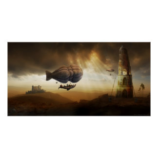 Endless Journey | Steampunk Incredible Adventure Poster