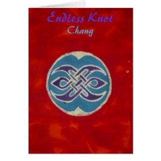 Endless Knot Chang Card