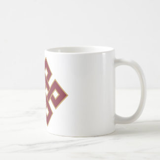 Endless knot coffee mug