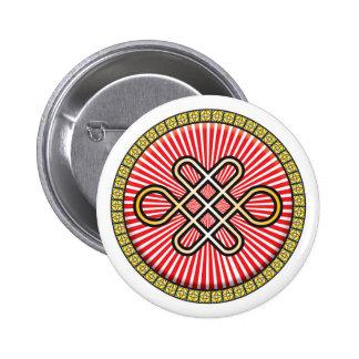 Endless Knot Icon Pinback Button