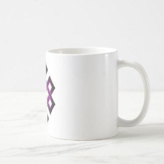 Endless knot classic white coffee mug