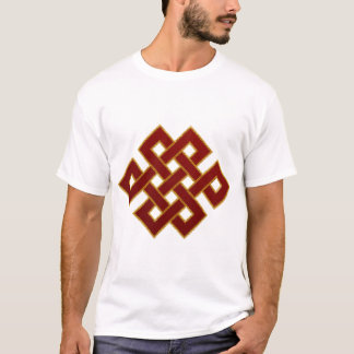 Endless Knot (red and gold) T-Shirt