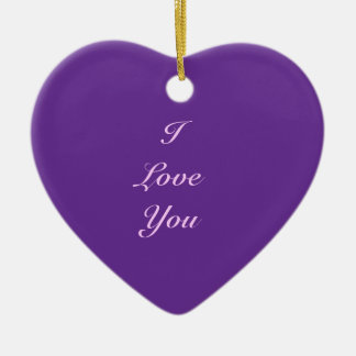 Endless Love - Heart Shaped Ornament Ceramic Heart Ornament