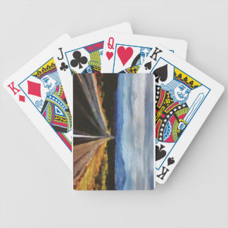 Endless Road - New Mexico. Poker Deck