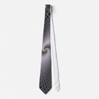 Endless Spirals - Fractal Art Tie
