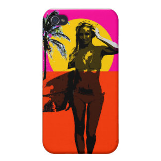 Endless Summer Surf Girl iPhone 4/4S Case