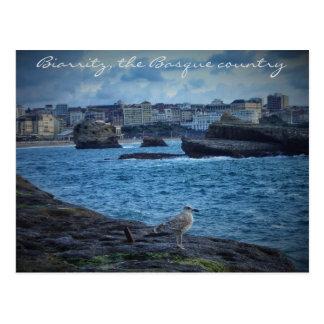 """""""Endless wait""""- Biarritz Postcard"""