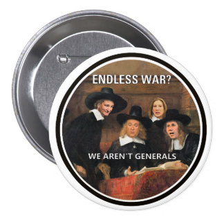 Endless War? 7.5 Cm Round Badge