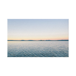 Endless Waves Canvas Print